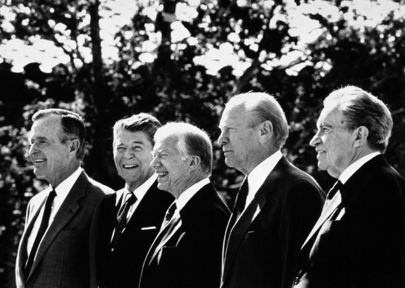 1991: Five presidents