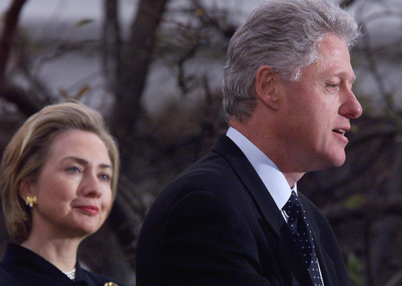 1998: President Clinton appears after House impeachment