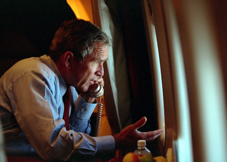2001: 9/11 call to Cheney