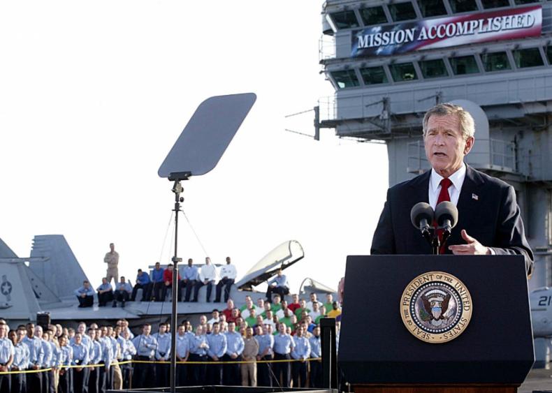 2003: 'Mission Accomplished'