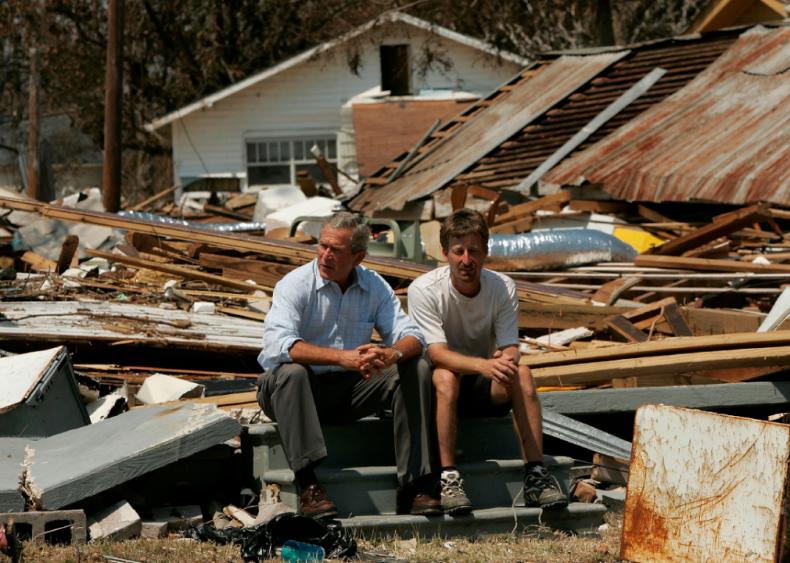 2005: Gulf Coast still reeling from aftermath of Hurricane Katrina