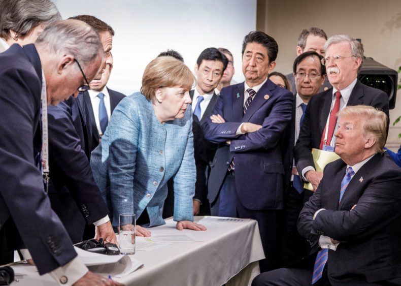 2018: Heads of state attend G7 meeting