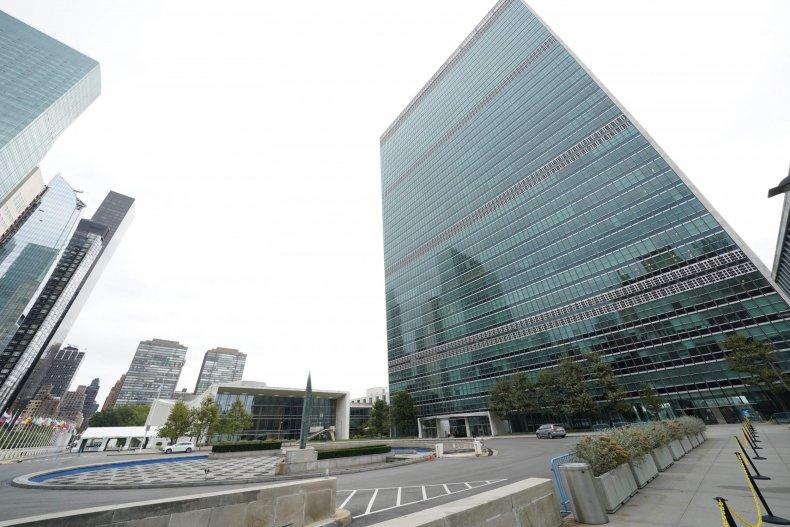 UN headquarters in New York City