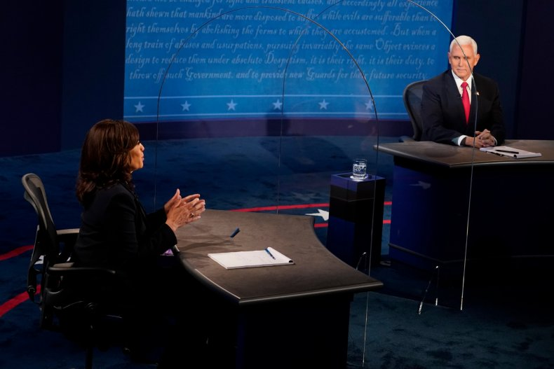 Pence and Harris Debate