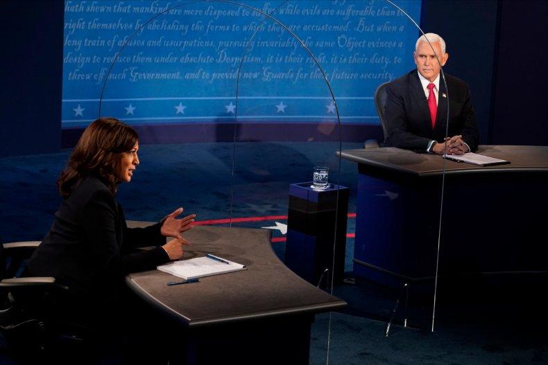 Kamala Harris Mike Pence supreme peaceful Trump