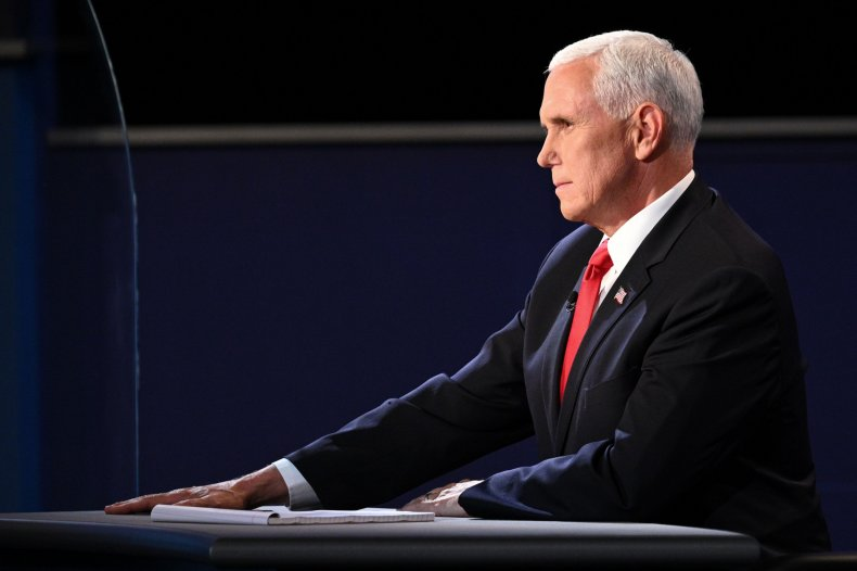 Mike Pence, debate, China, censor, coronavirus