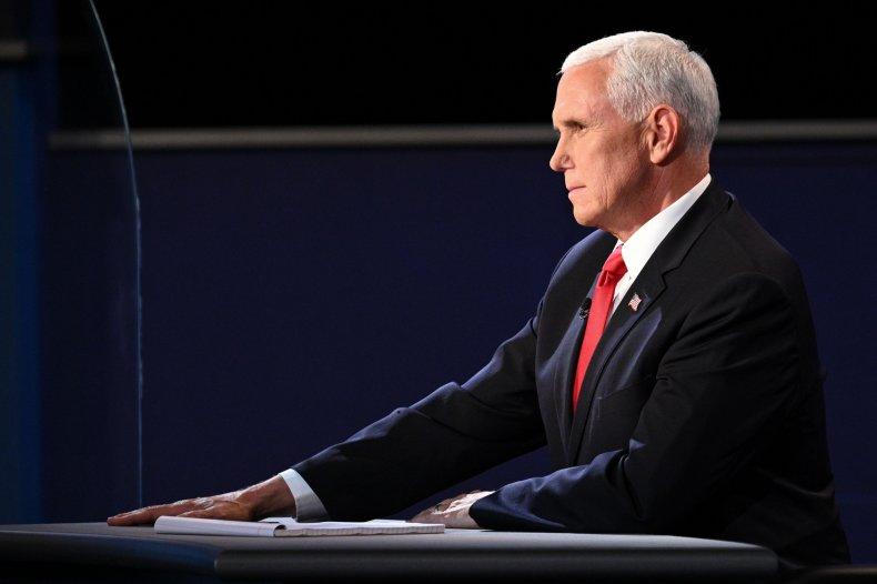 Mike Pence, debate, China, censor, coronavirus