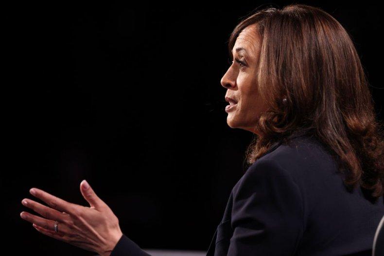 Kamala Harris at Vice Presidential Debate