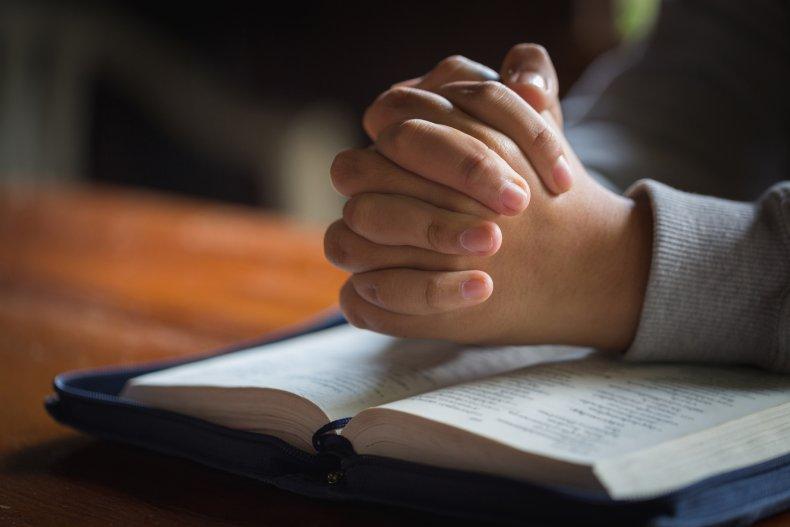 prayer, bible, pray, stock, getty