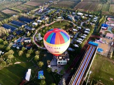 balloon tourism china