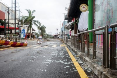 Getty Images Hurricane Delta Threatens Mexican Caribbean