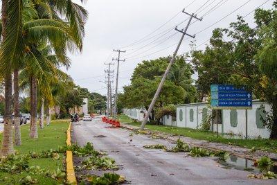 Hurricane Delta Cozumel Evacuation Winds Damaged Post
