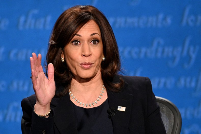 kamala harris, vice presidential debate, getty