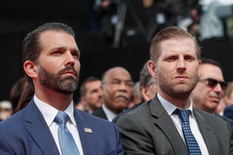 Donald Trump Jr. and Eric Trump