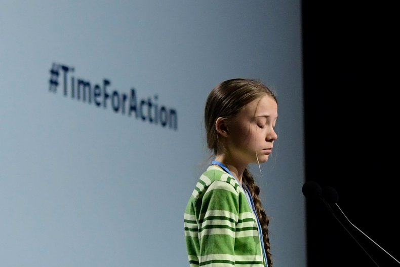 Getty Images Greta Thunberg UN Climate Change