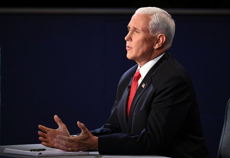 Mike Pence Debate