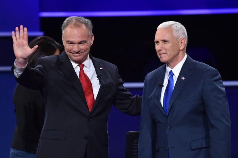 Pence Kaine 2016 Debate