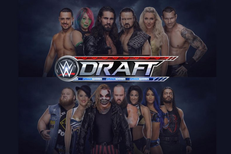 wwe draft 2020 monday night raw smackdown