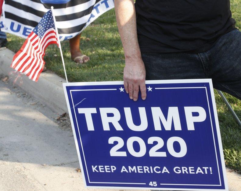 Trump Campaign Sign