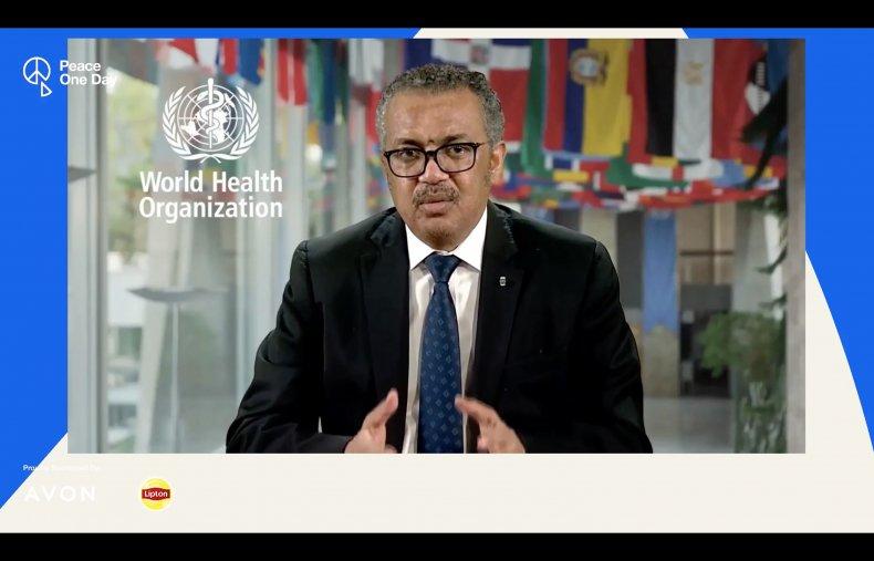 world, health, organization, tedros, peace