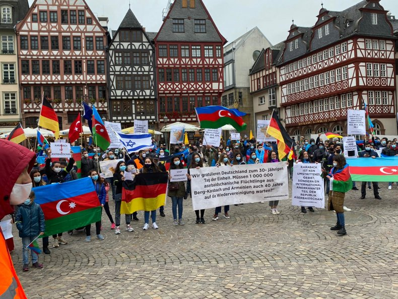 azerbaijan, protest, israel, turkey, germany