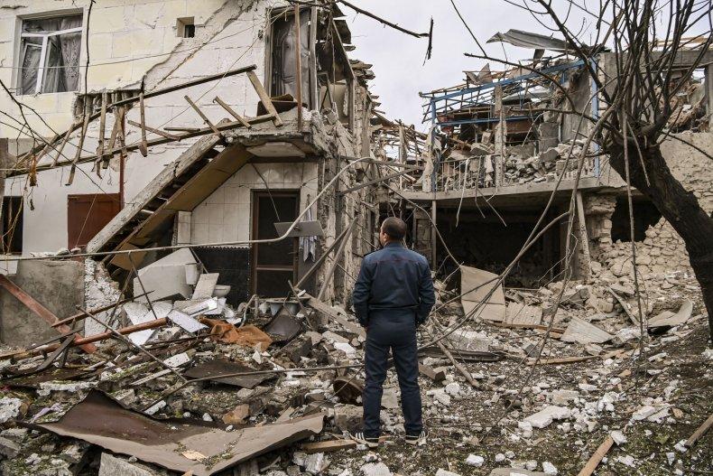 nagorno, karabakh, artsakh, stepanakert, shelling, conflict