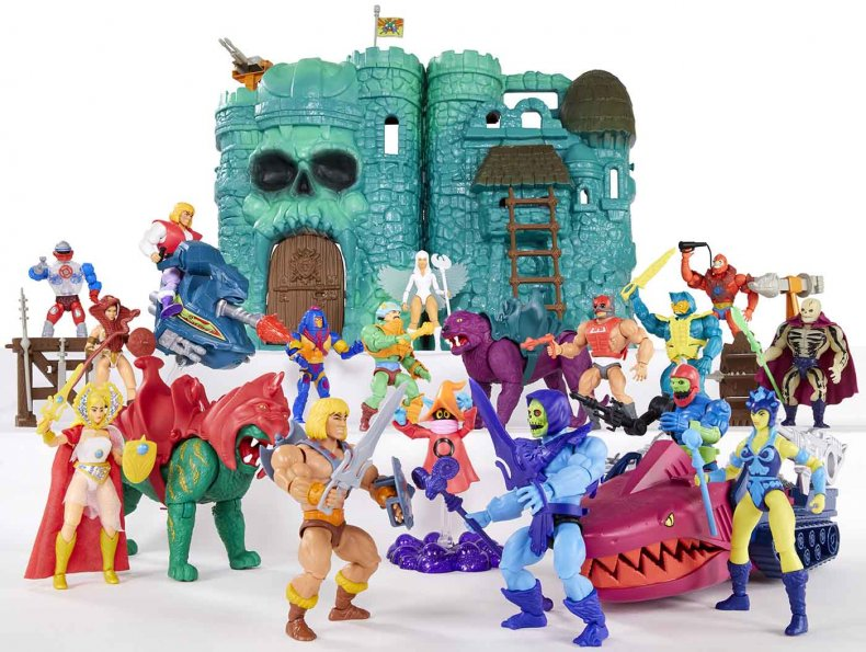 Masters of the Universe Castle Grayskull Reveal