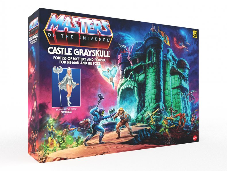 Masters of the Universe Castle Grayskull Box