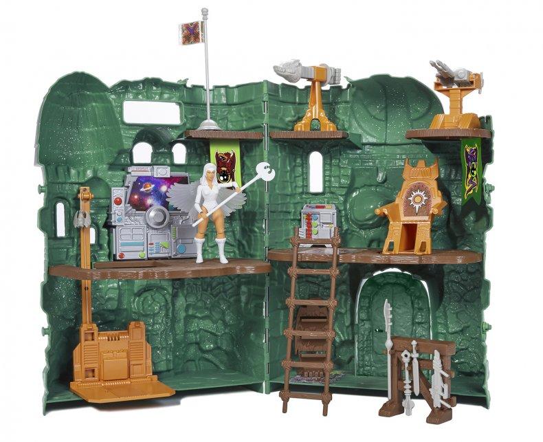 Masters of the Universe Castle Grayskull Display