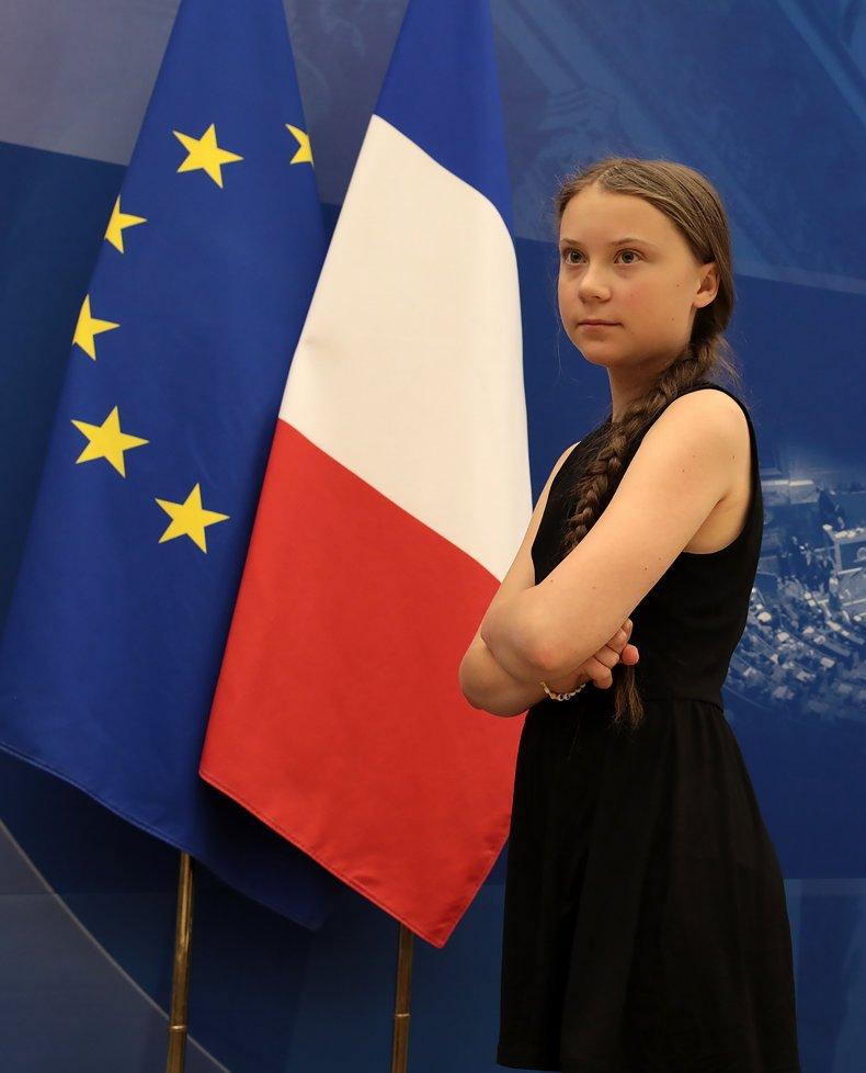Greta Thunberg Paris National Assembly Climate Change