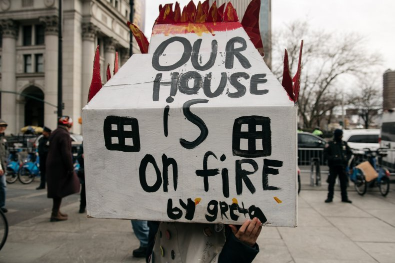 Greta Thunberg Our House On Fire Protest