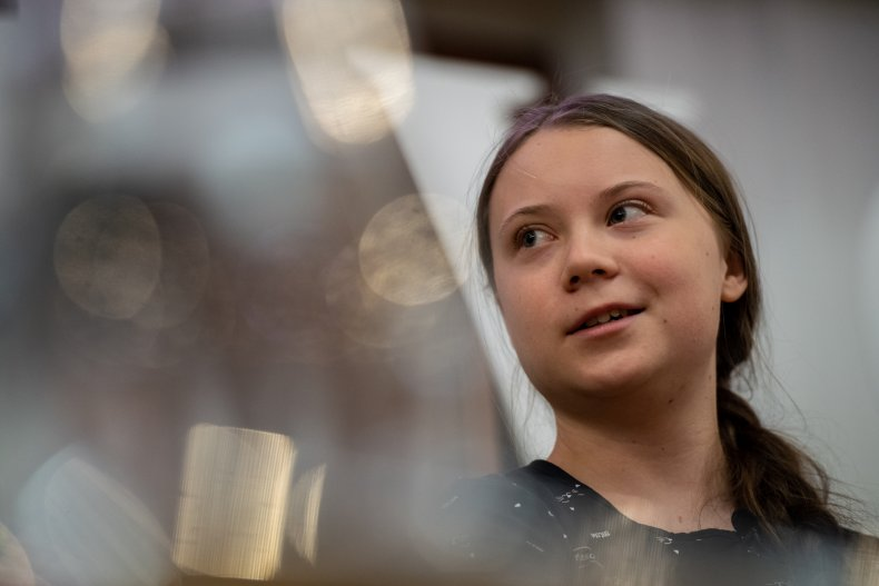 Greta Thunberg Sweden Student Climate Protects