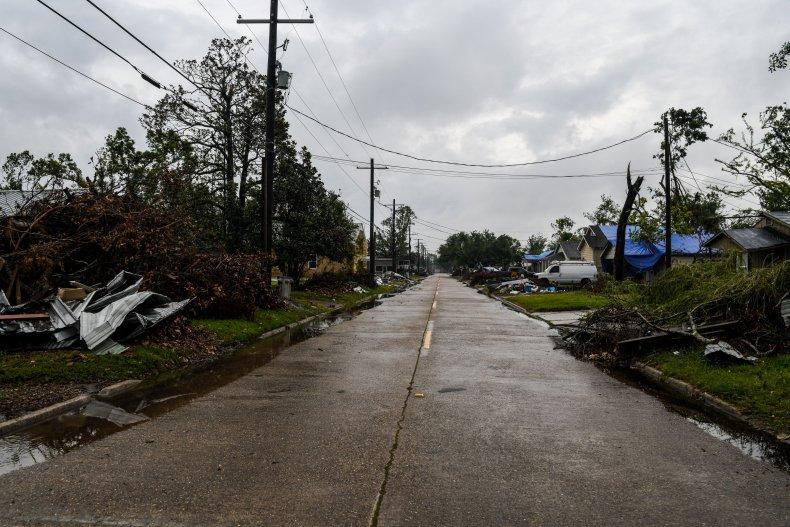 Louisiana Before Hurricane Delta Landfall 2020