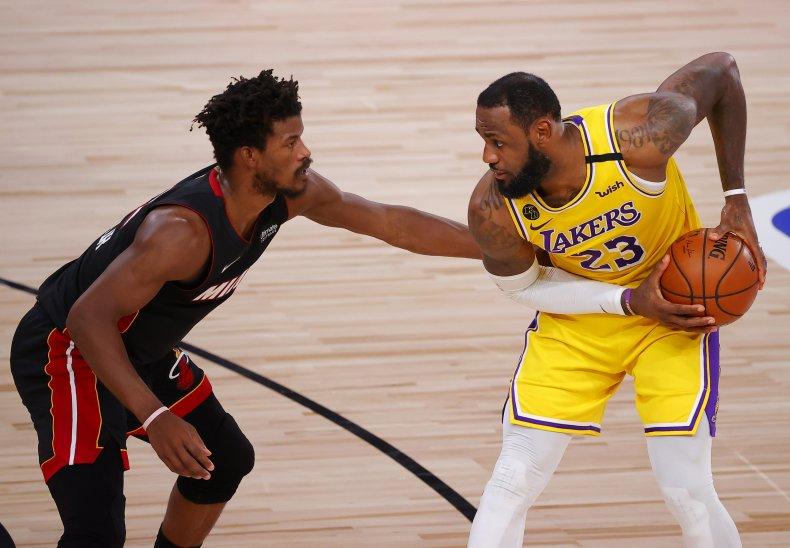 LeBron James, Jimmy Butler, NBA