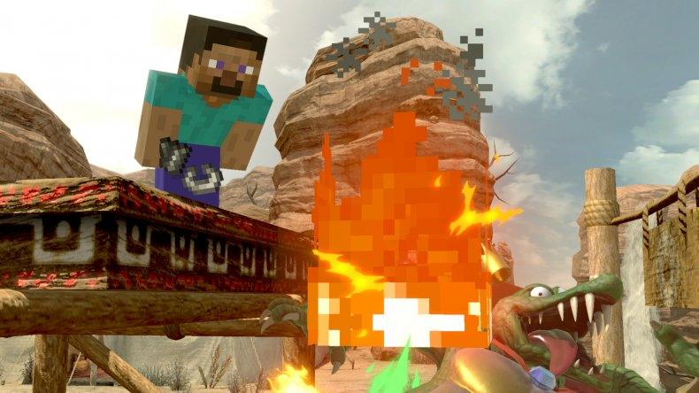 smash ultimate minecraft screen release date time