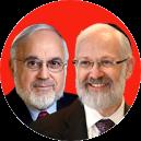 Abraham Cooper and Yitzchok Adlerstein