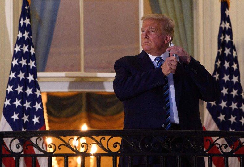 donald, trump, white, house, mask