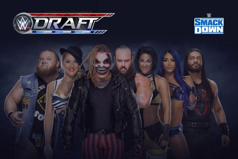 wwe draft 2020 smackdown results