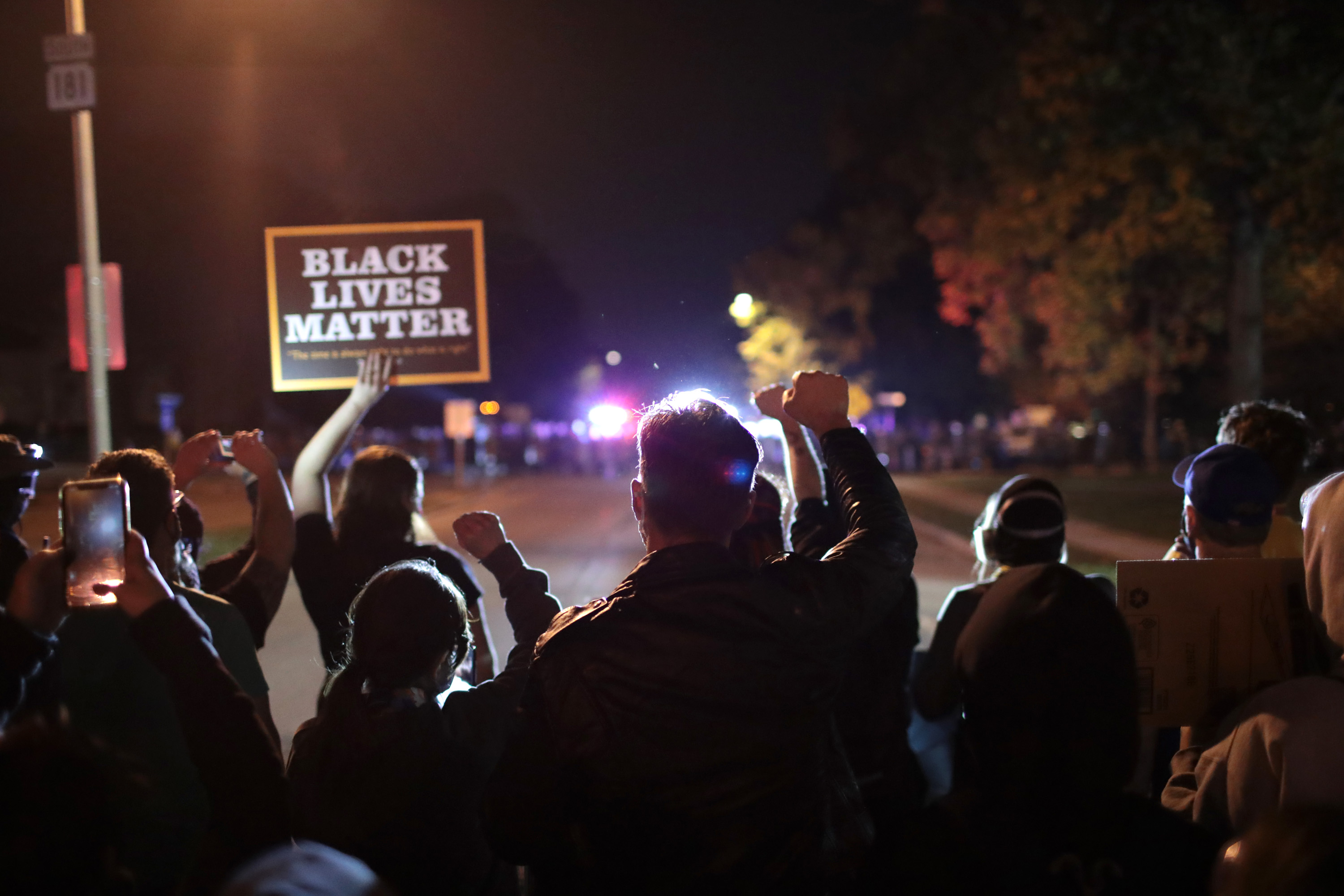 28 Arrested in Wauwatosa during 3rd night of protests over shooting of Black teenager