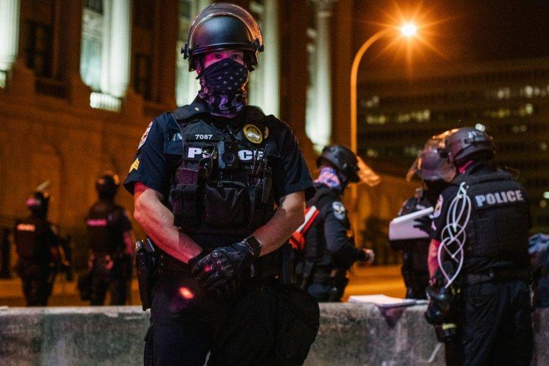 Louisville, Kentucky police in late September