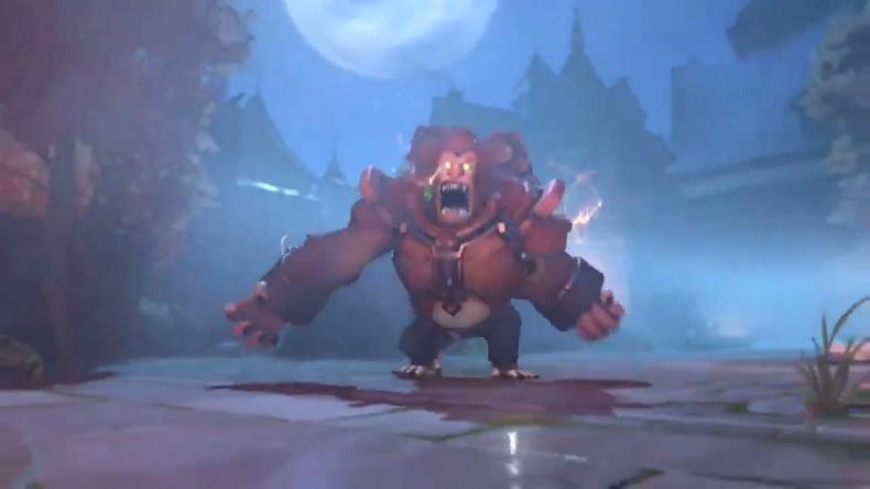 overwatch halloween terror 2020 werewolf winson skin