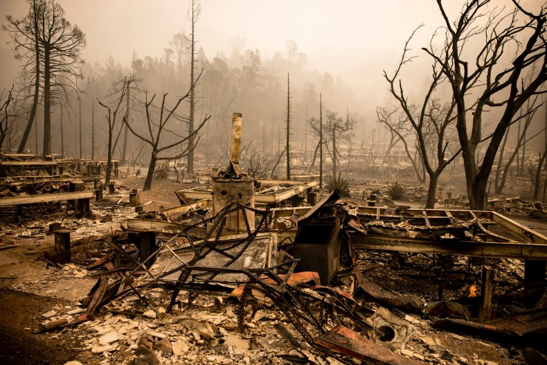 Glass Fire, California