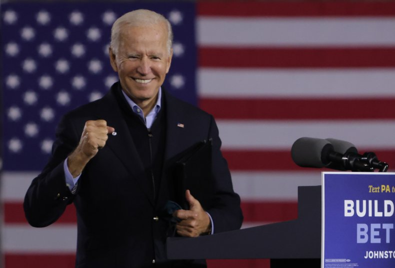 Joe Biden Pennsylvania campaign September 2020