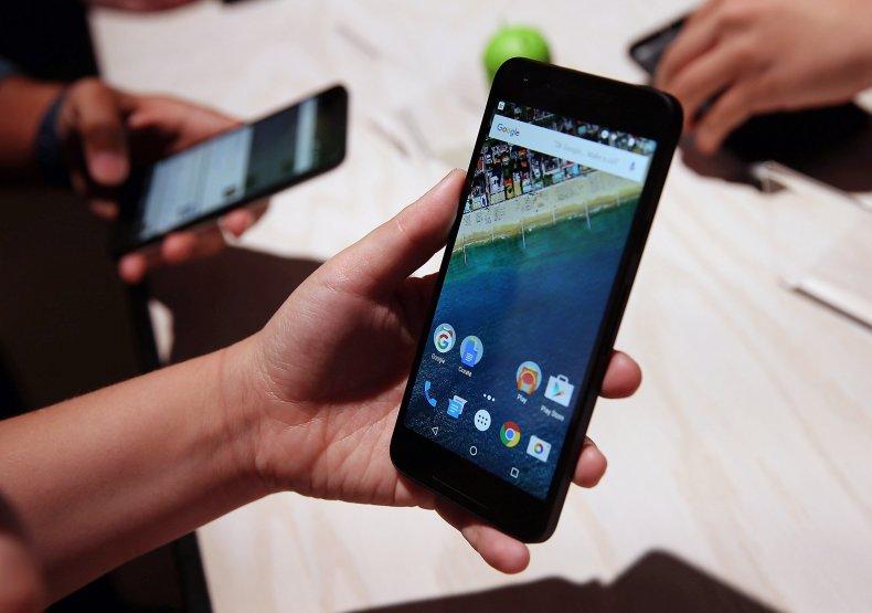 Google Android phone Nexus 5X 2015