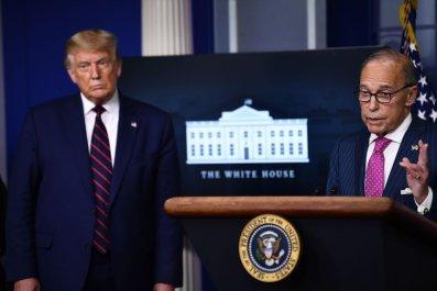 Trump and Kudlow