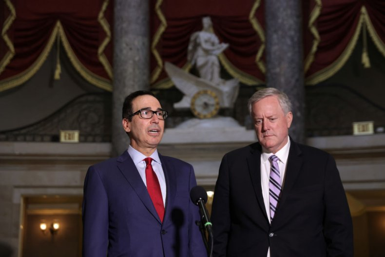 Steven Mnuchin and Mark Meadows