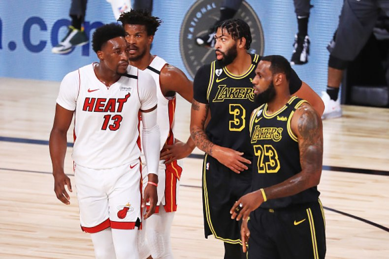 Miami Heat and Los Angeles Lakers