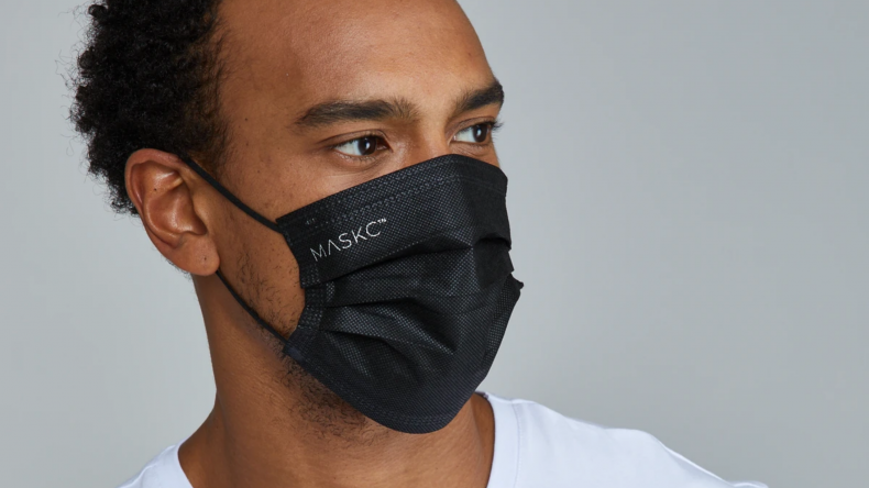 Black Face Mask ($18.00)
