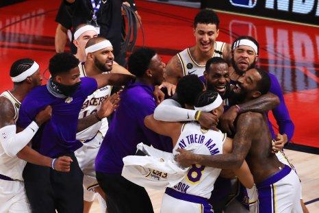 Lakers NBA Win