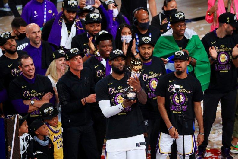 LeBron James, NBA, Los Angeles Lakers